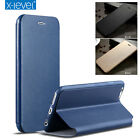 Genuine X-Level Luxury Leather Flip Wallet Stand Case Cover For iPhone 7/ 7 Plus