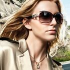 Polarized UV400 Lady Women Driver's Sunglasses Goggles Blinkers Eyewear Cat Eye