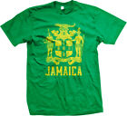 Jamaica Symbol Jamaican Distressed Country From Born JAM JM Reggae Men's T-Shirt