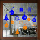 CHRISTMAS WINDOW DECORATION XMAS WALL STICKERS xmas shop window stickers  N10