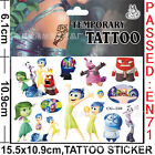 Lot Inside Out Children Cartoon Temporary Tattoos Stickers fashion Gifts