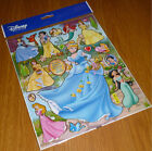 Lot Cinderella Stickers Children Stick Transparent PVC stickers Party Gifts T97