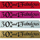 30TH BIRTHDAY GIRL PARTY SASH NIGHT OUT ACCESSORY FUN GIRLS SASHES THIRTY