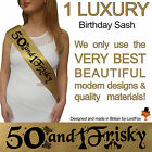 BIRTHDAY GIRL 50TH PARTY SASH NIGHT OUT ACCESSORY FUN GIFT SASHES FIFTY 50 TH