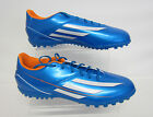 Mens Adidas F5 TRX TF Blue/White Football Boots F32763 UK 6.5 x 10.5 (R19B)
