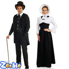 Couples Idea: Mens Ladies Victorian Costume Lady Halloween Ghost