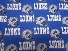 DETROIT LIONS NFL--men's tieback- OR bouffant -SCRUB HATS / MEDICAL- your choice
