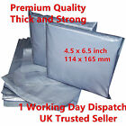100 x Strong Grey Postal Mailing Bags 4.5 x 6.5 inch 114 x 165 mm Special Offer