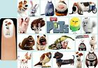 60x The SECRET LIFE Of PETS Nail Art Decals + Free Gems Max Snowball Duke Buddy