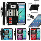 For Samsung Galaxy S7 G930 Clip Stand Case + Tempered Glass - Game Controller