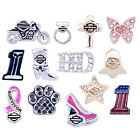 Harley-Davidson Womens Milestone Necklace Charms Locket Plates (SOLD SEPARATELY)