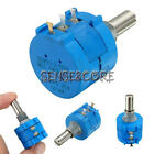 3590S Precision  Wirewound Potentiometer 500R1K2K5K10K20K50K100K Ohm Pot 10Turn