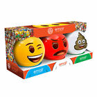Emoji Ball Mini Dodgeball Set Official  Poop Angry Winking Bounce Balls Toy Play