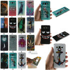Patterned Soft TPU Rubber Phone Case Cover Skin For Samsung Series Smartphones