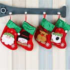 Christmas Santa Sock Cute Ornaments Festival Party Xmas Tree Hanging Decoration