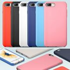 US Durable Soft Silicone TPU Case for iPhone 7 7 Plus Silicone Matte Phone Cover