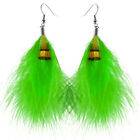 JF098 wholesale lots Feather noble women dangle earrings you pick quantity new