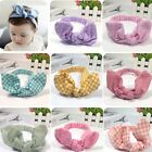 Cute Baby Toddler Girl Kids Elastic Dot Hairband Turban Knot Rabbit Ear Headband