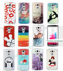 Cell  Phone Case Cover  For LG G3  + Screen Protector+Stylus Pen