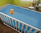 All Round Soft Large Long Padded Bumper To Fit Cot  Cot Bed