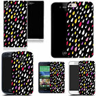 art case cover for various Mobile phones - black droplet silicone