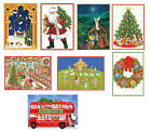 Caspari Advent Calendar Cards 18 x 13 cm beautiful 24 door advents cards