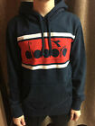 FELPA DIADORA - 502 161899 01 C0506 HOODED SWEAT BL