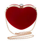 Heart-shaped Bag Evening Bags Diamonds Day Clutches Bride Tote Bag Shoulder Bags