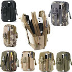 Large Capacity Bag With Strap Phone Pouch Wallet Card Case For iPhone/Samsung