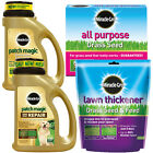 SCOTTS MIRACLE-GRO LAWN CARE RANGE GRASS SEED FERTILISER LAWN FEED PATCH MAGIC