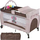 Portable Child Baby Infant Travel Cot Bed Playpen with Entryway