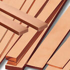 NEW CHEAPEST on EBAY C101 Copper Flat Bar various sizes & Lengths cut up to 4m
