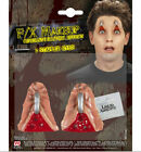HALLOWEEN 2 STAPLED EYES MAKEUP SCAR WOUND HORROR PARTY FANCY DRESS ACCESSORY