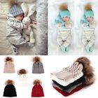 Cute Baby Toddler Kids Boys Girls Knitted Crochet Beanie Winter Warm Hat Cap
