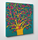 KEITH HARING THE TREE OF MONKEY QUADRO STAMPA SU TELA CANVAS QUADRI MODERNI