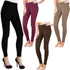 Warm Thick Thermal Fleece Leggings  Womens Size