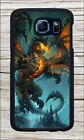 DRAGON FROM  HELLS CASE COVER FOR SAMSUNG GALAXY S6 -dgw3Z