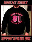 HELLS ANGELS BEACH SIDE Virginia Support Gear 81 SUPPORT Pull Over Sweat Shirt