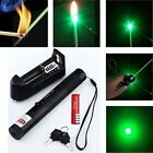 10X Military 532nm 5mw 301 Green Laser Pointer Pen Burning Beam+18650+Charger OY