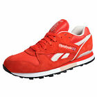 Reebok Classic Phase II Mens Retro Running Shoes Trainers Red White