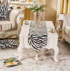 Zebra Classical Elegant Table Runner Cloth & Bed Flag Dinning Home Table Clothes