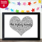 My Family Gift Personalised Family Gift New Home Present Family Christmas Gift
