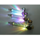 Metal LED Smoking Pipe Sprial Screw Pocket Size Tobacco Cigarettes Holder Gift