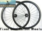 38mm track carbon bike wheels fixed gear bicycles wheelset 23mm width