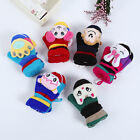 Lovely Cartoon Kids Girls Boys Child Gloves Winter Warm Stretchy Knitted Mittens