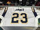 Quentin Jammer San Diego Chargers NFL Reebok AUTHENTIC White Jersey-Sz 60 $99.99 USD on eBay