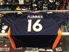 Denver Broncos Jake Plummer NFL Reebok AUTHENTIC Orange Jersey = 60(5X)