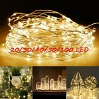 1-10M 10-100 LED String Fairy Lights Copper Wire Battery Powered Waterproof Hot