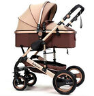 Fine Baby Stroller Pushchairs Four Wheels Travel Folding Baby Carriage Pram