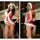 Christmas Girls Costume Sexy Lingerie Sets Underwear Xmas Cosplay G-String